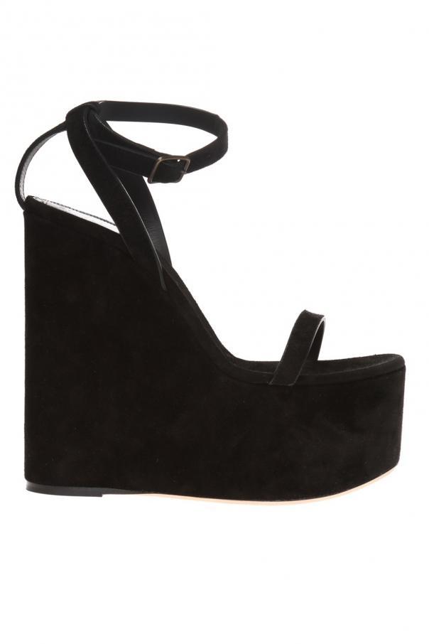 98f213e0a2 Frida' wedge sandals Saint Laurent - Vitkac shop online