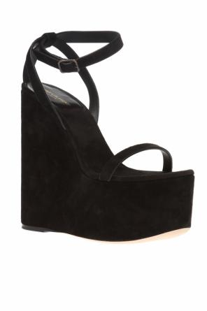'frida' wedge sandals od Saint Laurent