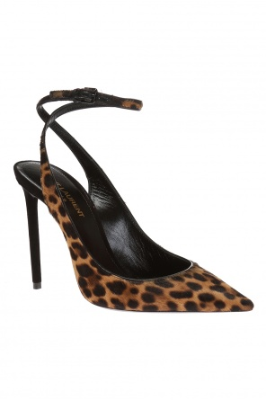 Stiletto pumps with leopard print od Saint Laurent