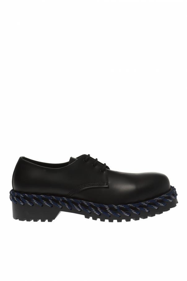 Lace Trim Shoes by Balenciaga