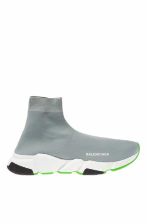 'speed' high-top sneakers with sock od Balenciaga