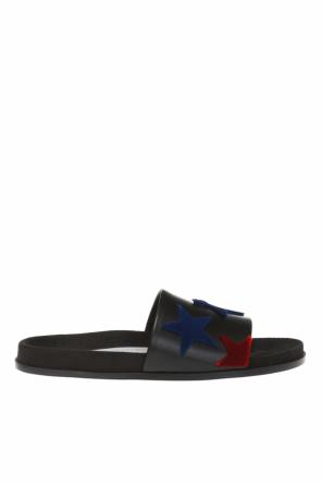 Slippers with velvet stars od Stella McCartney