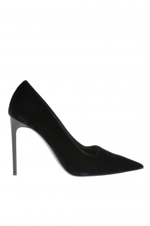 Velvet high heel shoes od Stella McCartney