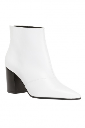 Heeled ankle boots with pointed toe od Stella McCartney