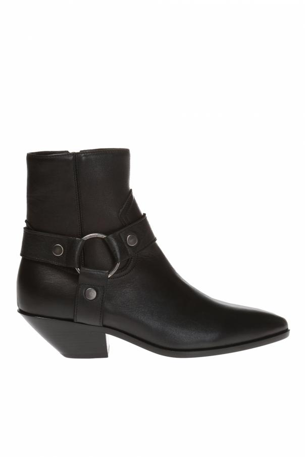 d0e3a30265e Ankle boots with straps Saint Laurent - Vitkac shop online