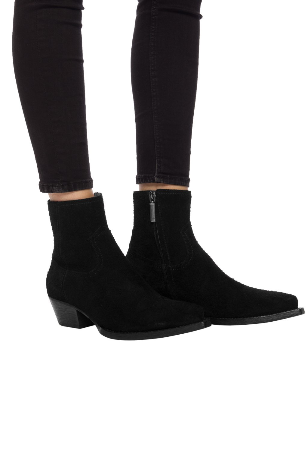 Saint Laurent High heeled 'LUKAS'  ankle boots