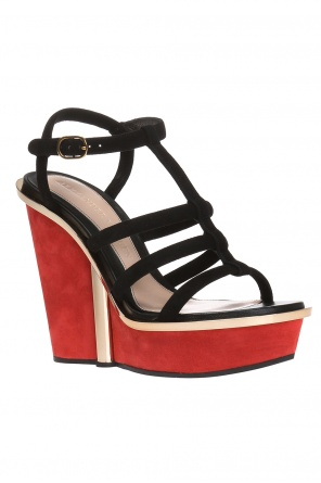 Wedge sandals od Alexander McQueen
