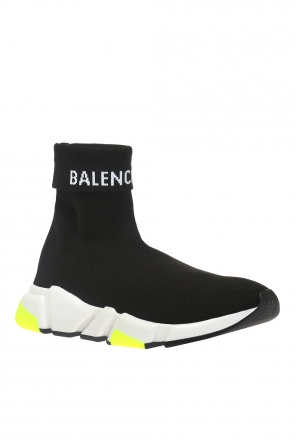 High-top sneakers with sock od Balenciaga