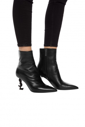 'opyum' heeled ankle boots od Saint Laurent