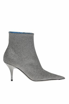 Ankle high, heeled boots od Balenciaga