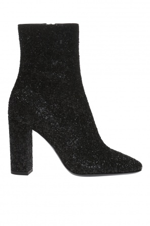 'lou' heeled ankle boots od Saint Laurent