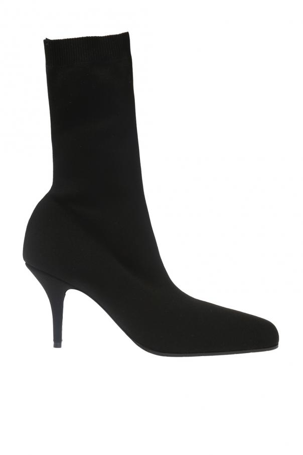 Balenciaga Heeled boots with sock