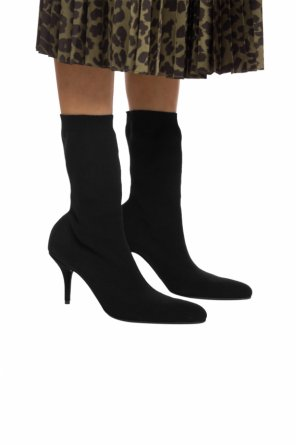Heeled boots with sock od Balenciaga