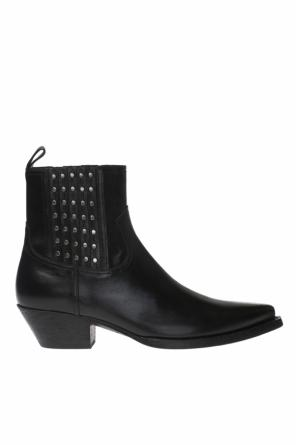 'houston' heeled ankle boots od Saint Laurent