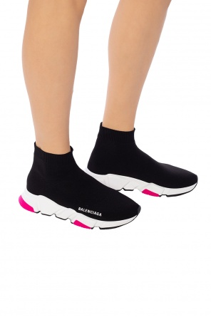 Branded sneakers with sock od Balenciaga