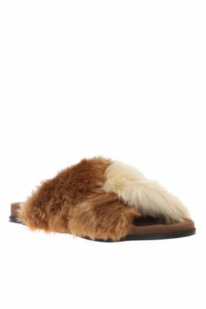 Faux-fur slides od Stella McCartney