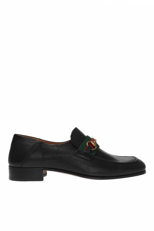 f9d2893a200 Loafer  shoes with a stomped heel Gucci - Vitkac shop online