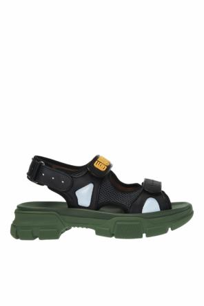 9072e3630d3 ... Sandals with a logo od Gucci