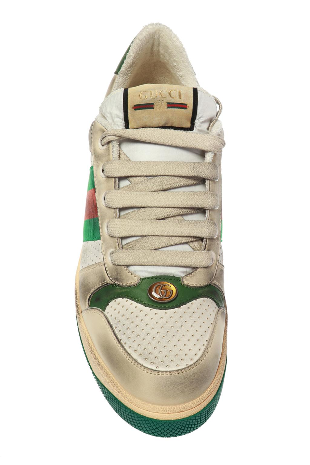 Gucci 'Screener' sneakers with 'Web' stripes
