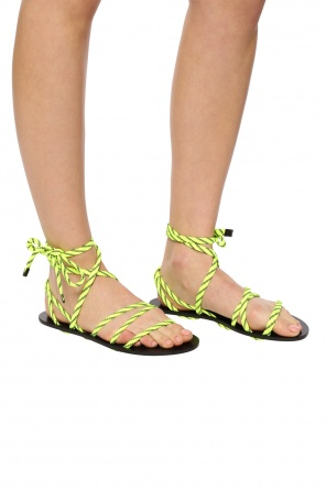 Lace-up sandals od Balenciaga