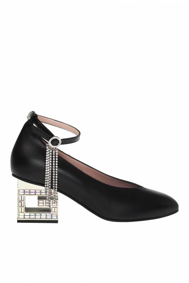 10e19fe1d decorative-heel-shoes by gucci