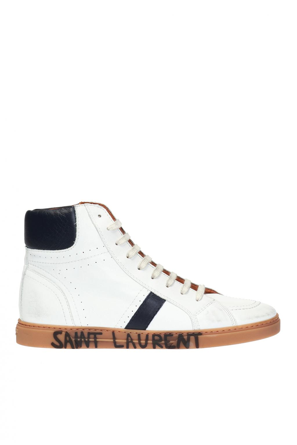 Joe High Top Sneakers Saint Laurent Vitkac Us
