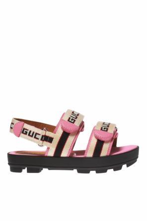0195852c427f8 Logo sandals od Gucci Kids Logo sandals od Gucci Kids