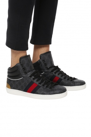'ace' high-top sneakers od Gucci