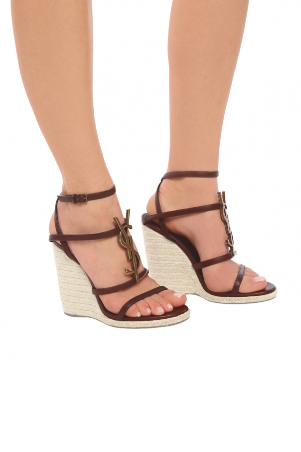 04711dbf8f0 Cassandra' wedge sandals Saint Laurent - Vitkac shop online