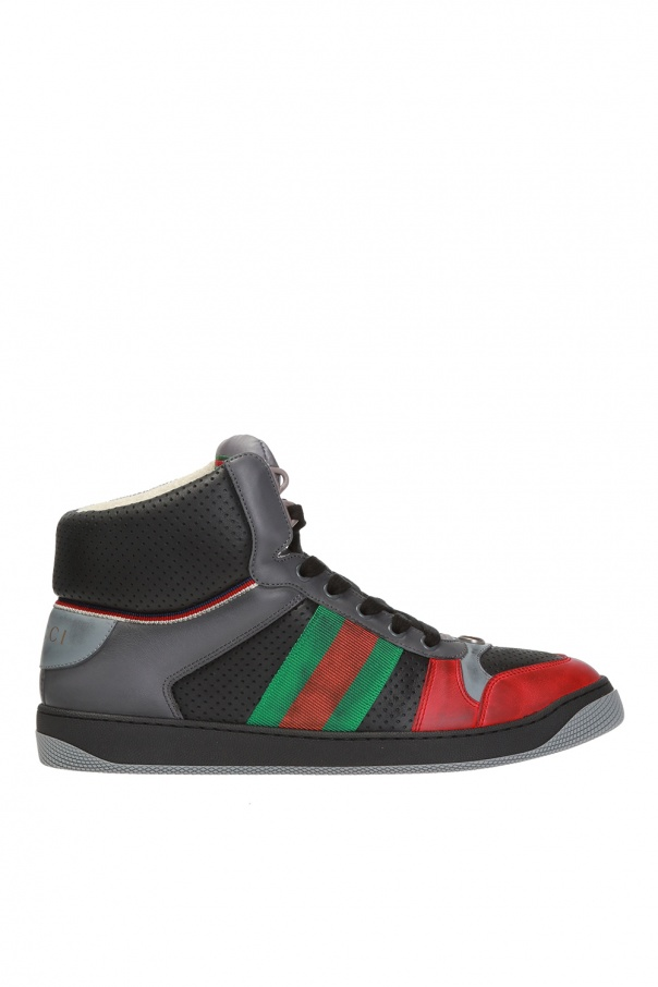 'screener' high-top sneakers od Gucci