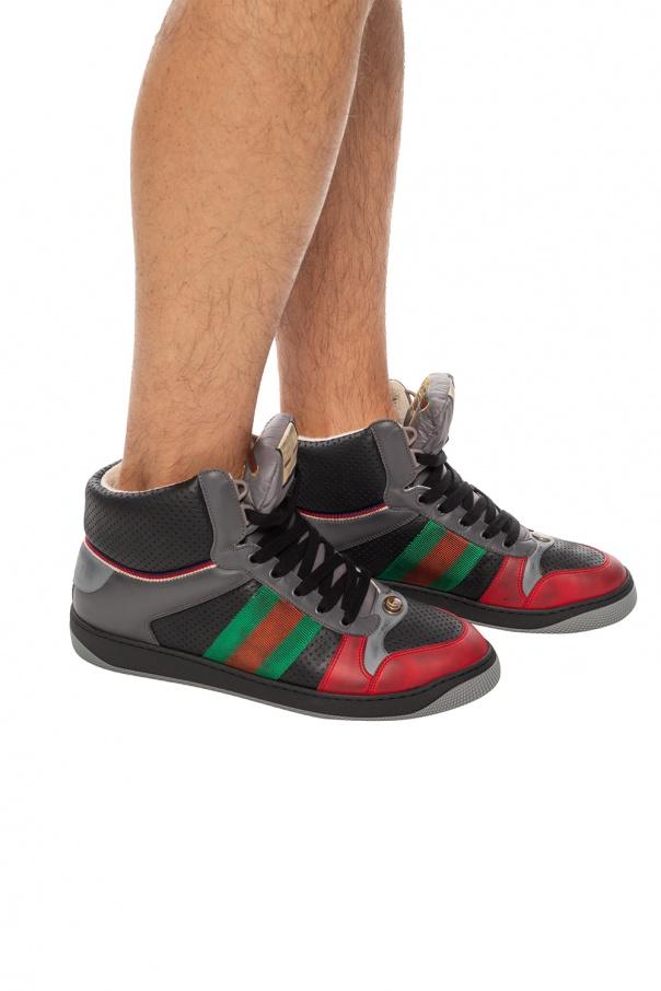 'screener' high-top sneakers od Gucci