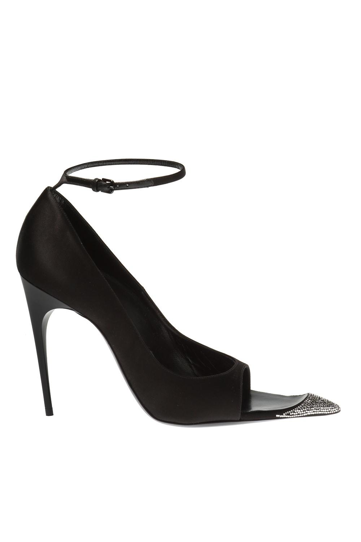 Edwige Stiletto Sandals Saint Laurent Vitkac Canada