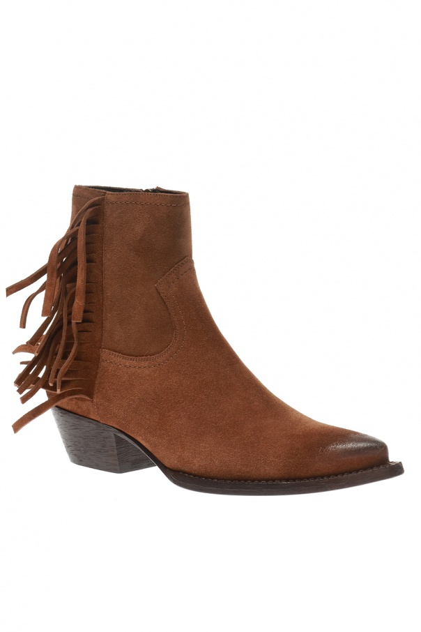 'lukas' heeled ankle boots od Saint Laurent
