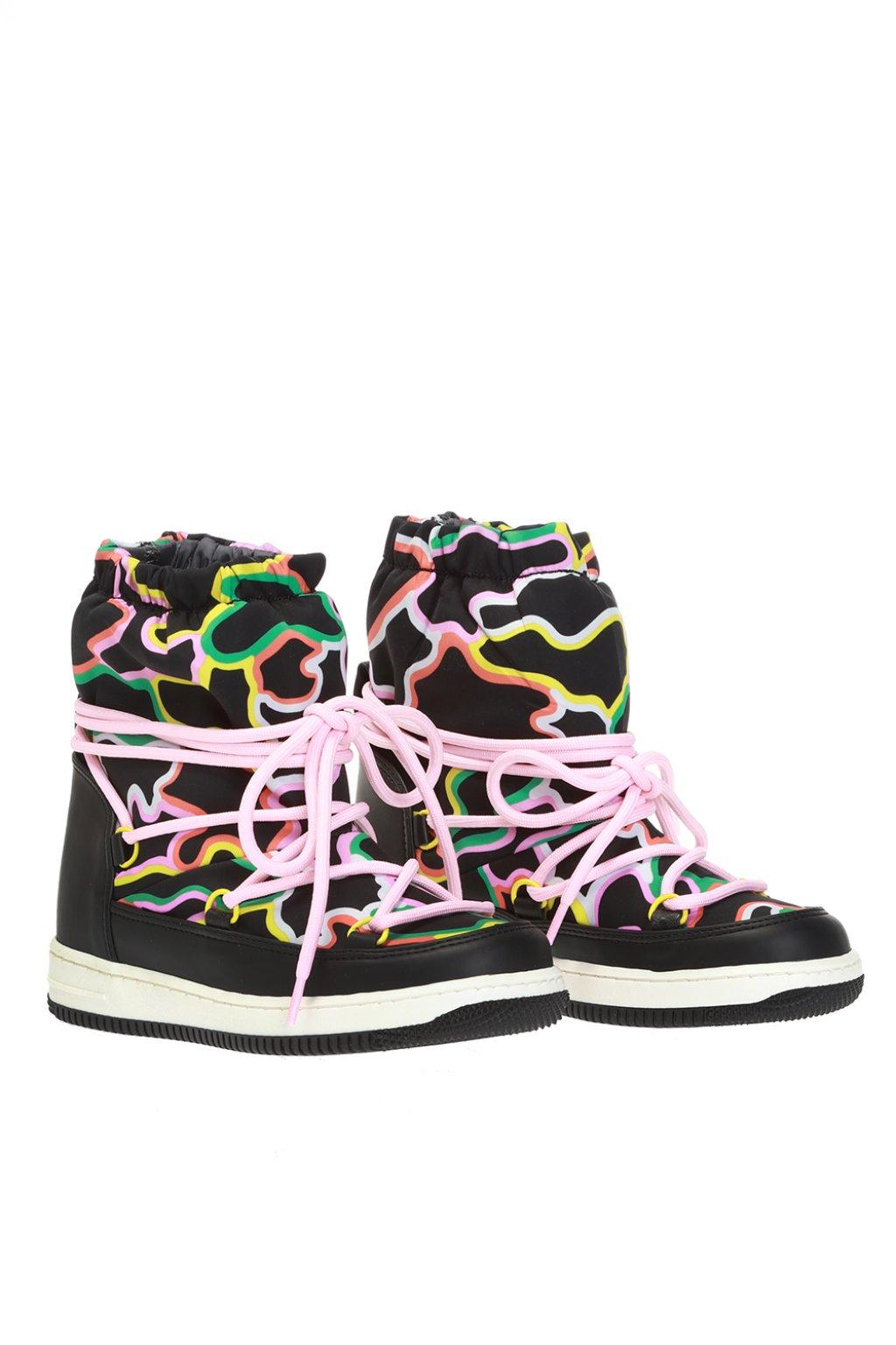 Stella McCartney Kids Patterned snow boots