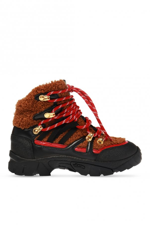 Stella McCartney Kids Fur-trimmed boots