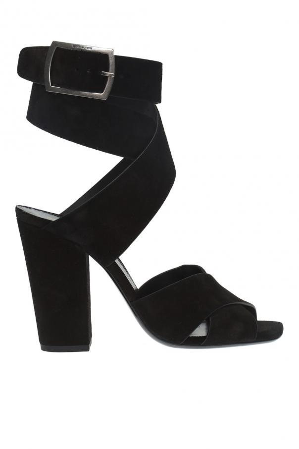 ab66a411992 Oak  heeled sandals Saint Laurent - Vitkac shop online