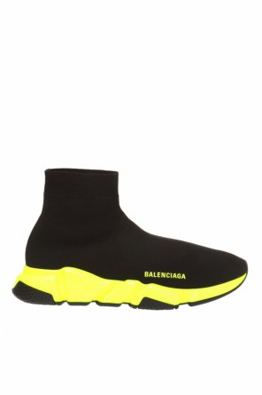 'speed' high-top sneakers with sock effect od Balenciaga