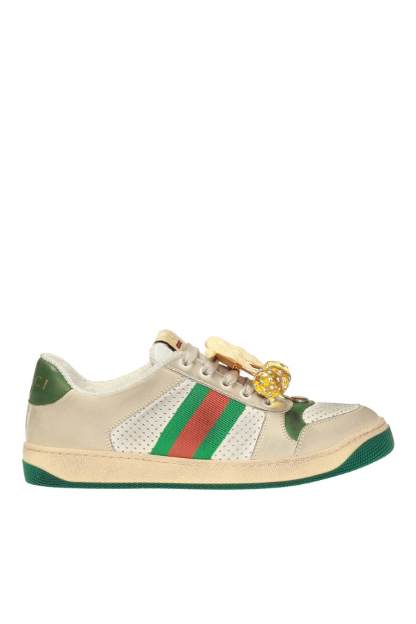 926b9d55f26a Screener  sneakers with worn effect Gucci - Vitkac shop online