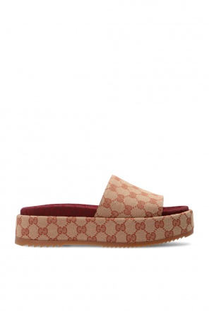'gg' platform sandals od Gucci