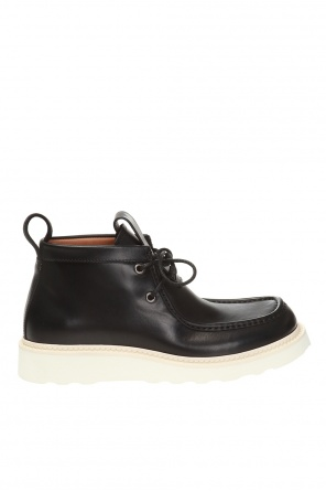 Lace-up boots od Bottega Veneta