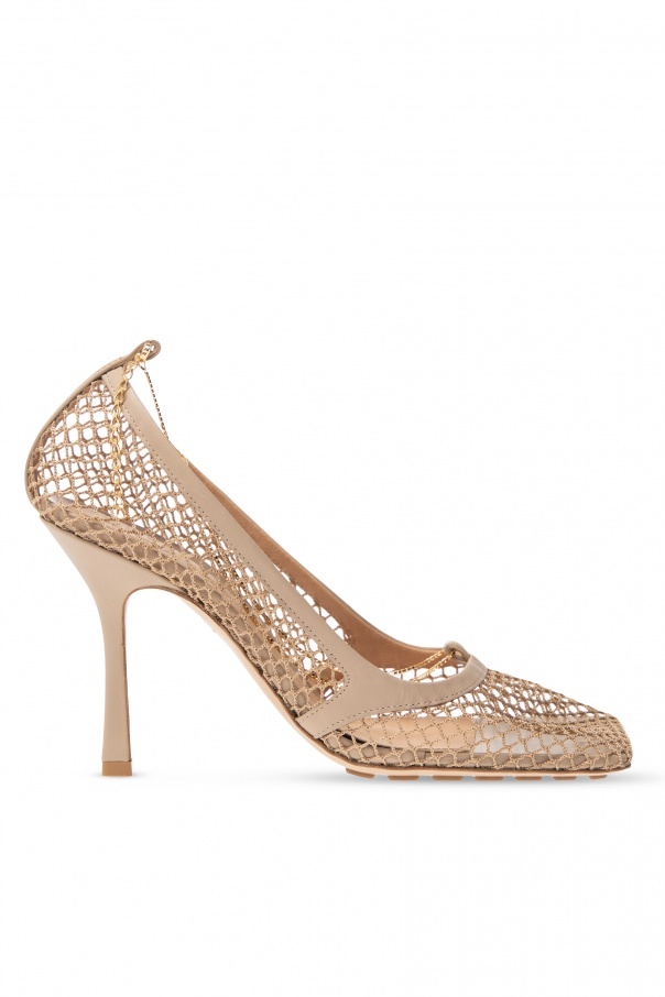 Bottega Veneta 'Stretch' pumps with chain