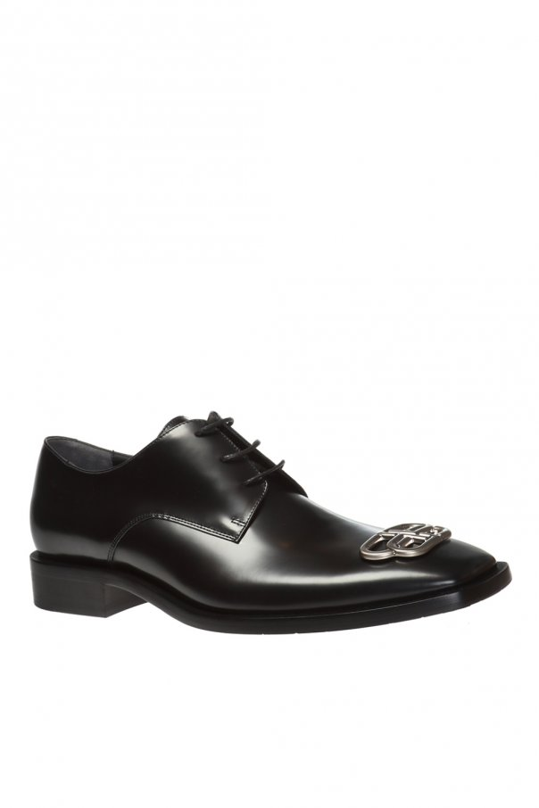 Leather derby shoes od Balenciaga