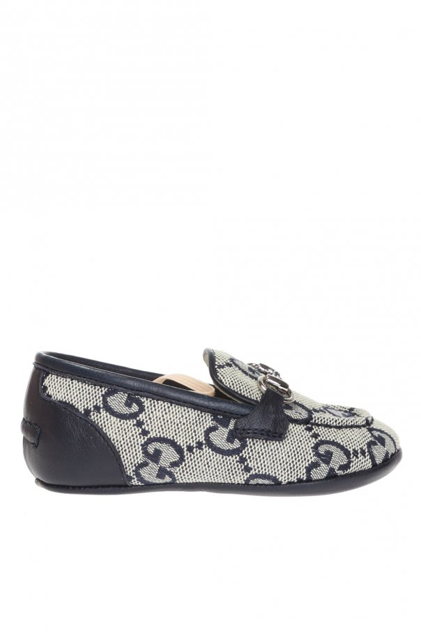 Gucci Kids Patterned loafers