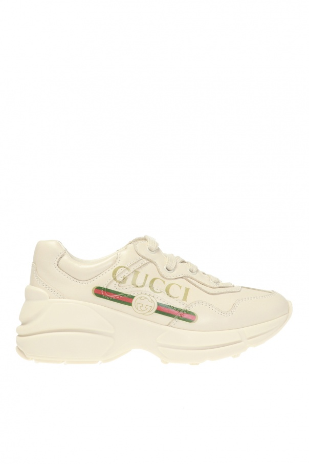 Gucci Kids 'Rhyton' sneakers with logo