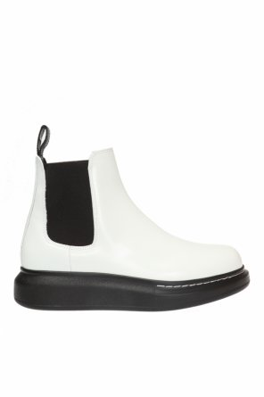Logo ankle boots od Alexander McQueen
