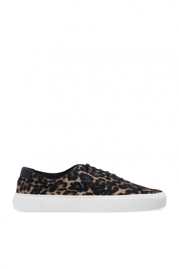 Saint Laurent Leopard print sneakers