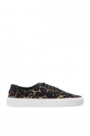 Leopard print sneakers od Saint Laurent