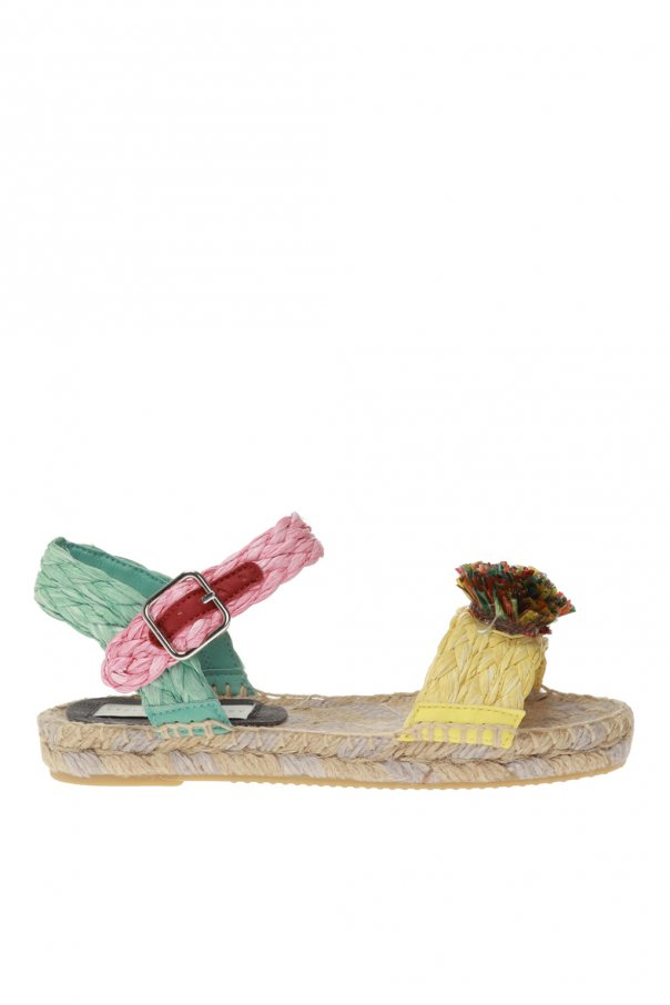 Stella McCartney Kids Woven sandals