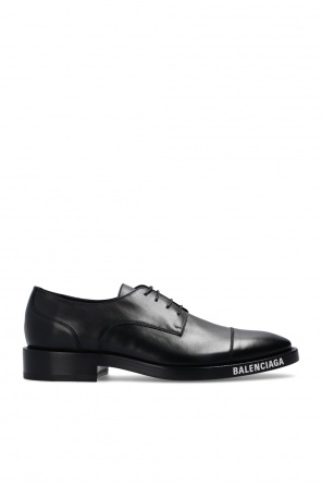 Derby shoes with logo od Balenciaga