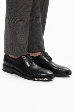 Derby shoes with logo od Balenciaga